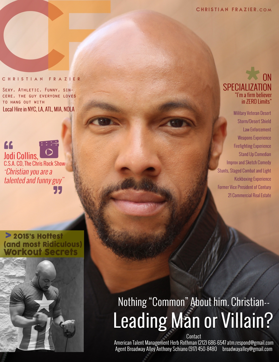 Christian Magazine Cover 1