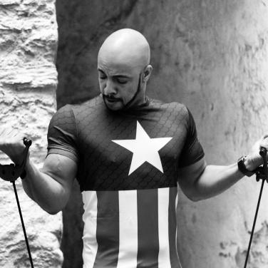 #fitness #fitnessmodel #model #marvel #marveluniverse #avengers #captainamerica #underarmour